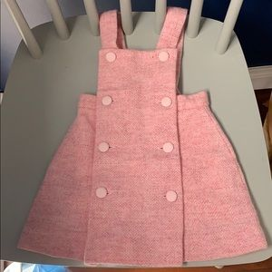 Pink Tweed Oscar de la Renta dress 12m